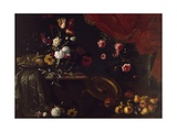 Flowers, Fruits and Sweets Giclee Print by Giuseppe Recco
