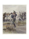 Mounted Cavalry in 1807 Giclee Print by Jean-Baptiste Edouard Detaille