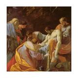 The Entombment of Christ Giclée-Druck von Simon Vouet