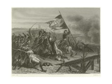 Battle of the Bridge of Arcole Giclee Print by Denis Auguste Marie Raffet
