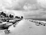 Fort Lauderdale Beachfront, 1949 Photographic Print
