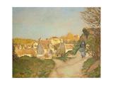 The Hill at Jallais, Pontoise, 1875 Reproduction procédé giclée par Camille Pissarro