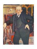 Portrait of Monsieur Mori, 1922 Giclée-Druck von Suzanne Valadon