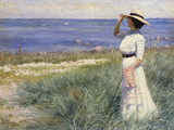 Looking Out to Sea, 1910 Giclée-tryk af Paul Fischer