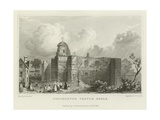 Colchester Castle, Essex Reproduction procédé giclée par William Henry Bartlett
