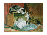 Playtime Giclee Print by Henriette Ronner-Knip