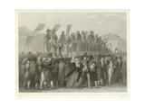 Volunteers Enlisting Giclee Print by Denis Auguste Marie Raffet