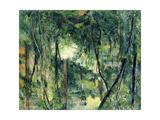 Undergrowth, C.1885 Reproduction procédé giclée par Paul Cézanne