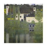Kammer Castle on Lake Attersee I, 1908 Giclée-Druck von Gustav Klimt