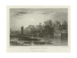 Maldon, Essex Reproduction procédé giclée par William Henry Bartlett