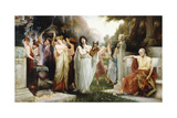 The Oracle Giclee Print by George Edward Robertson