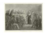 Marie Antoinette at the Revolutionary Tribunal Giclee Print by Denis Auguste Marie Raffet