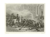 Quashing a Royalist Insurrection Giclee Print by Denis Auguste Marie Raffet