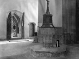 Baptismal Font, St. Agnes Church, Cawston Photographic Print by Frederick Henry Evans