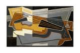 Violin and Clarinet, 1921 Impressão giclée por Juan Gris