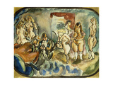 The Dithering Client, 1916 Giclee Print by Jules Pascin