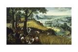 Summer Landscape Giclée-Druck von Lucas van Valkenborch