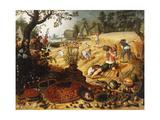 The Four Seasons - Summer Giclée-Druck von Sebastian Vrancx