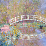 Bridge in Monet's Garden, 1895-96 Giclee Print by Claude Monet