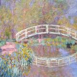Bridge in Monet's Garden, 1895-96 Impressão giclée por Claude Monet