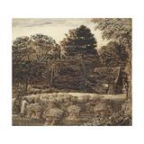 A Cornfield, Shoreham at Twilight Giclee Print by Samuel Palmer