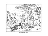 The Rheinberger's Grave Giclee Print by Alfred Rethel