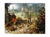 The Four Seasons - Spring Giclée-Druck von Sebastian Vrancx