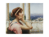 A Classical Beauty Giclee Print by Henry Ryland