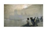 Westminster, 1878 Reproduction procédé giclée par Giuseppe De Nittis