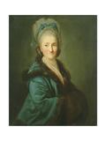 Portrait of an Old Woman, 1780 Giclée-tryk af Anton Graff