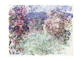 The House Among the Roses, 1925 Giclée-Druck von Claude Monet