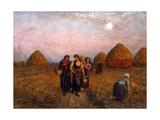 Dawn Labour, 1900 Giclee Print by Jules Breton