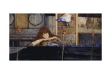 I Lock My Door Upon Myself Giclee Print by Fernand Khnopff