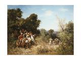 Arab Horsemen Giclee Print by Georges Washington