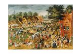 The Feast of Saint George Giclée-Druck von Maerten van Cleve
