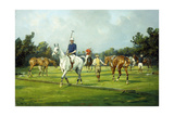 Before the Start of the Match Giclee Print by George Wright