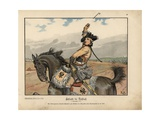 Battle of Rossbach Giclee Print by Richard Knoetel