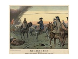 After the Battle of Zorndorf Giclee Print by Richard Knoetel