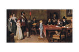 And When Did You Last See Your Father Reproduction procédé giclée par William Frederick Yeames