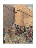 The Square Fort in Antibes Giclee Print