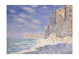 Cliffs Near Fecamp, 1881 Giclee Print by Claude Monet