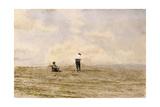 Mending the Net, 1882 Giclee-trykk av Thomas Cowperthwait Eakins