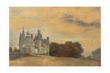 The Chateau Des Rochers Near Vitre, 1831-1832 Giclee Print by Pierre Etienne Theodore Rousseau