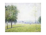 Primrose Hill, Regent's Park, 1892 Stampa giclée di Camille Pissarro