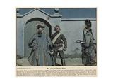 The Captured Black Hussar Giclee Print by Richard Knoetel