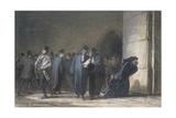 At the Palace of Justice, C.1862-65 Lámina giclée por Honore Daumier