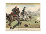 Frederick the Great at the Battle of Kolin Giclee Print by Richard Knoetel