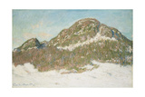Mount Kolsaas, Sunlight Effect, 1895 Giclée-Druck von Claude Monet