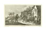 Village Festival Giclée-Druck von David Teniers the Younger