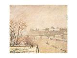 The Seine from the Pont-Neuf Reproduction procédé giclée par Camille Pissarro